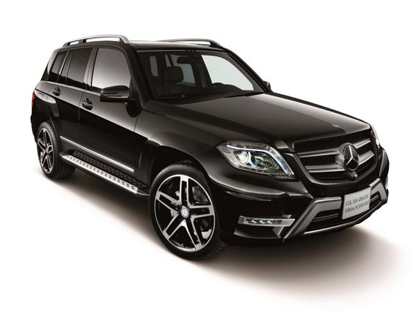 Mercedes-Benz GLK 350 4MATIC Schwarz Edition