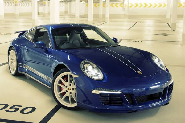 Porsche 911 Carrera 4S 5 Million Facebook Fans